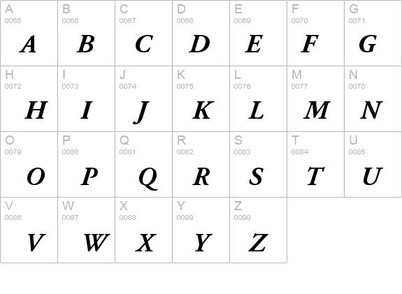 AGaramondPro-BoldItalic Font - FontZone net