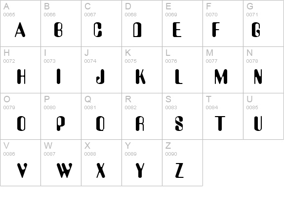 AUGUST Regular details - Free Fonts at FontZone.net