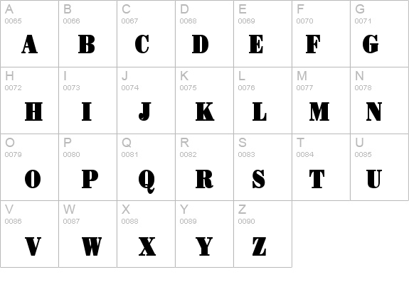 Beau-Condensed Bold Font - FontZone net