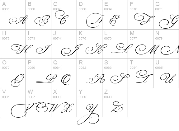 Bickham Script Three details - Free Fonts at FontZone.net