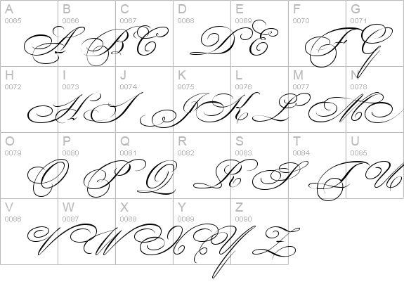 Bickham Script Two details - Free Fonts at FontZone.net