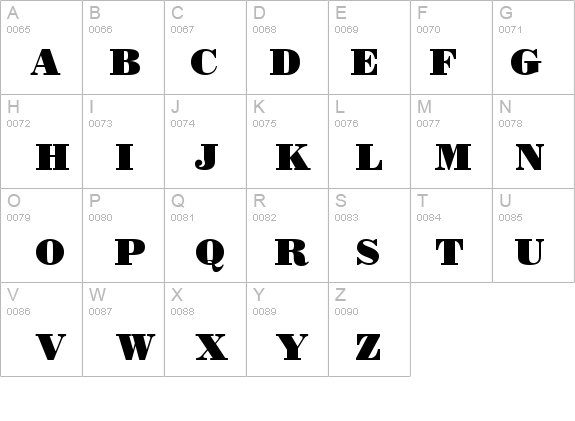 Bodoni Black Font - FontZone net