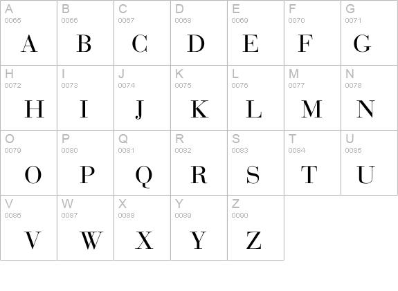 Bodoni-Normal Font - FontZone net
