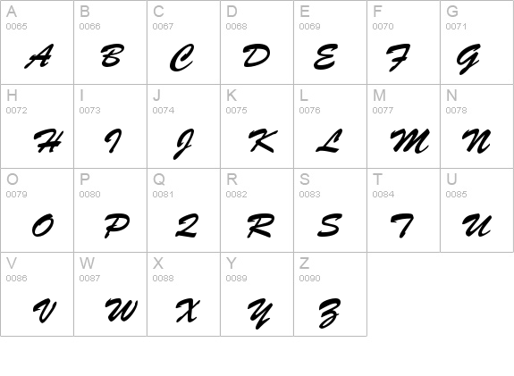 BrushScriptStd details - Free Fonts at FontZone.net