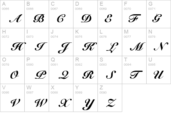 Free Fonts Cursive Elegantreusable Stencils For Tattoosclavicle Tattoos Designs