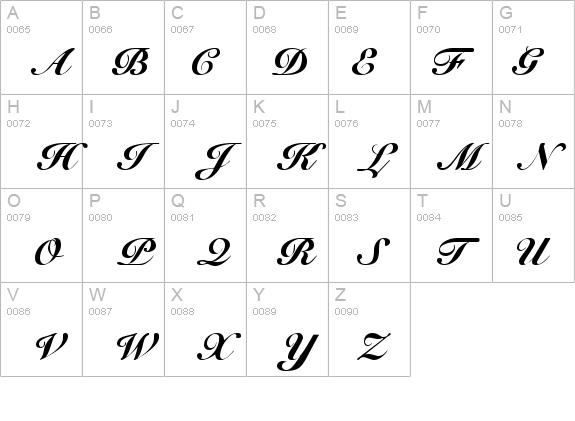Cursive Elegant Font