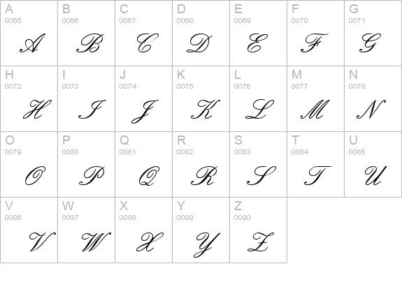English Script Font