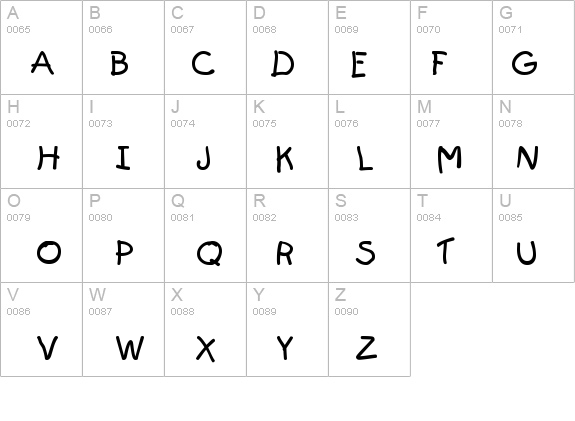 First-Grader details - Free Fonts at FontZone.net