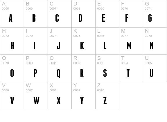 Franchise Bold Font - FontZone net