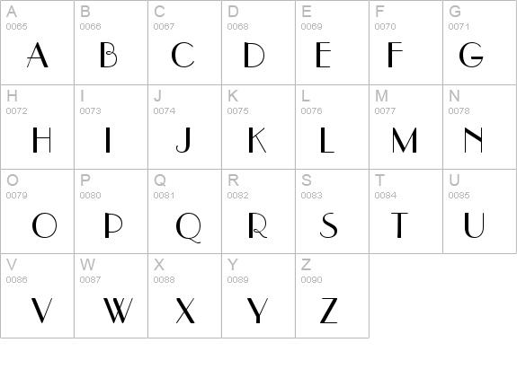 Hafnium Sample Font - FontZone.net