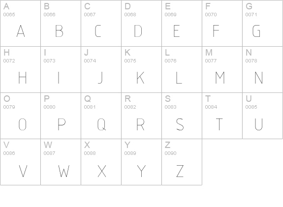 isocp shx font