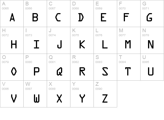 OCRAStd details - Free Fonts at FontZone.net