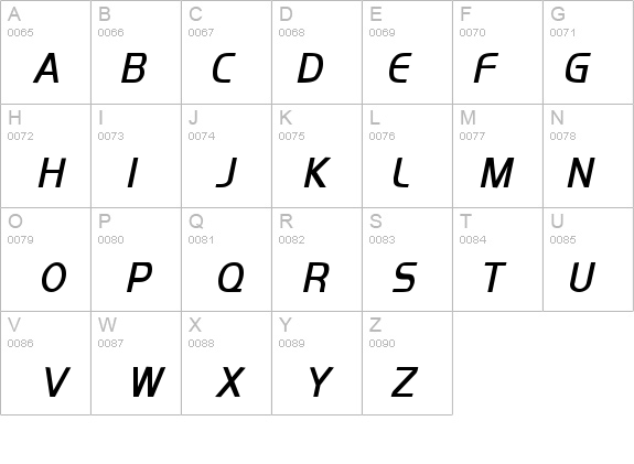 Orbit-Condensed Bold Italic Font - FontZone net