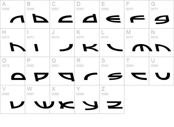 Sampler A Italic Font