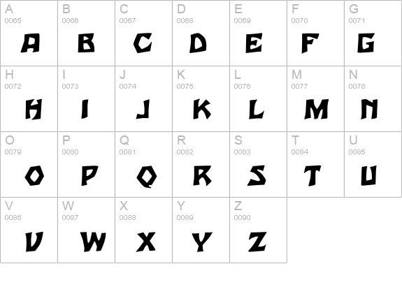 Tarzan Regular details - Free Fonts at FontZone.net