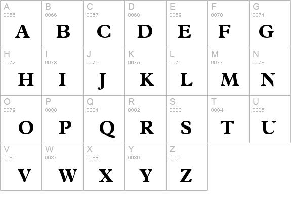 Terminus Black SSi Bold Font - FontZone net