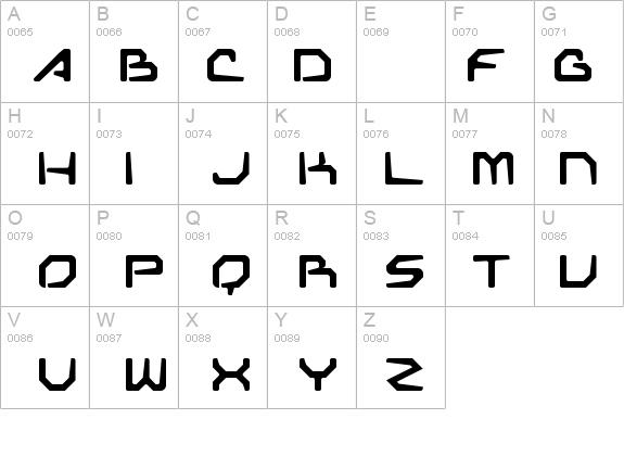 Transformer demo details free fonts at fontzone net