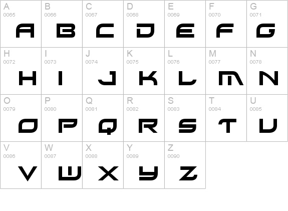 Xirod details - Free Fonts at FontZone.net