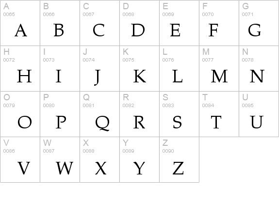 Zapf Calligraphic 801 Bt Font