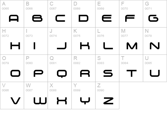 Zygo details - Free Fonts at FontZone.net