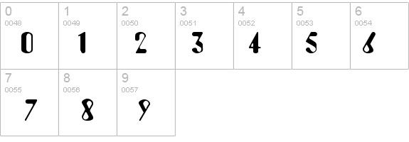 AUGUST Regular Font - FontZone net