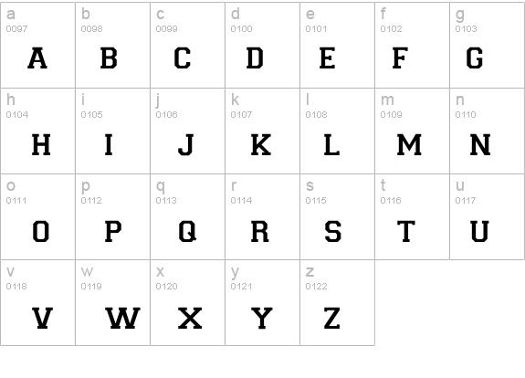 Varsity Regular Font - FontZone net