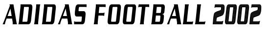 Adidas Football 2002 - Download Thousands of Free Fonts at FontZone.net