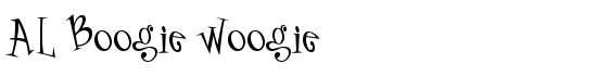 AL Boogie Woogie - Download Thousands of Free Fonts at FontZone.net