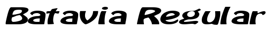Batavia Regular - Download Thousands of Free Fonts at FontZone.net