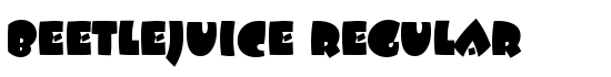 Beetlejuice Regular - Download Thousands of Free Fonts at FontZone.net