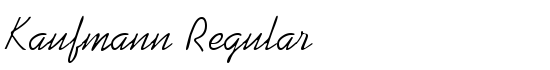 Kaufmann Regular - Download Thousands of Free Fonts at FontZone.net