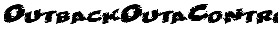 OutbackOutaControlSCapsSSK - Download Thousands of Free Fonts at FontZone.net