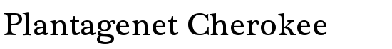 Plantagenet Cherokee - Download Thousands of Free Fonts at FontZone.net