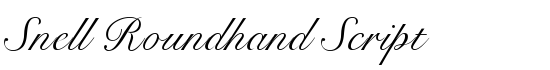 Snell Roundhand Script - Download Thousands of Free Fonts at FontZone.net