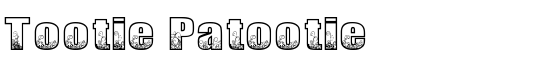 Tootie Patootie - Download Thousands of Free Fonts at FontZone.net