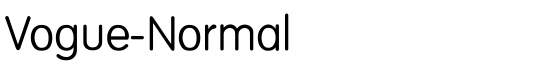 Vogue-Normal - Download Thousands of Free Fonts at FontZone.net