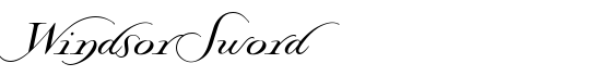 WindsorSword - Download Thousands of Free Fonts at FontZone.net