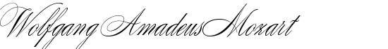 Wolfgang Amadeus Mozart - Download Thousands of Free Fonts at FontZone.net